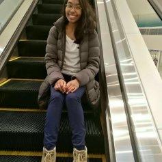 Me on an Escalator