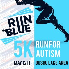Run in Blue first poster