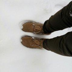 Sole-deep snow